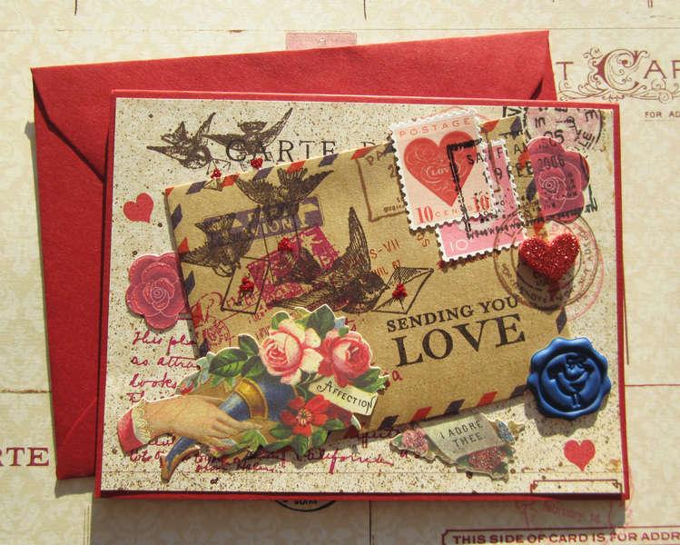 Sending Vintage Love Letters