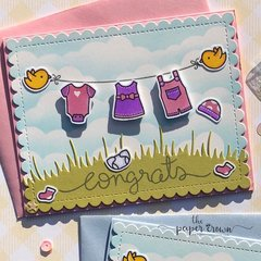 Baby Congrats Card