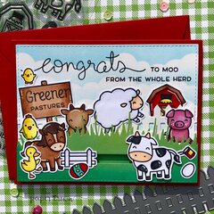 Congrats on Moo-ving on to Greener Pastures