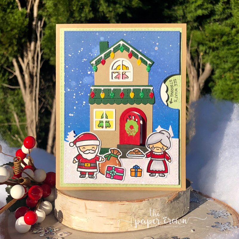 Christmas House Reveal Wheel