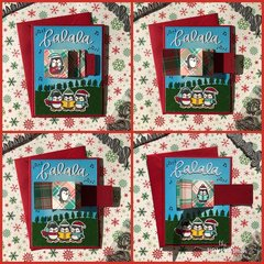 Penguin Flip Slider Card