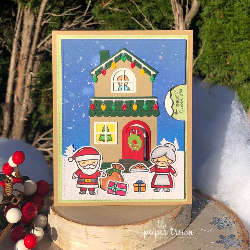 Christmas House Reveal Wheel