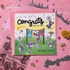Dandy Day Baby Congratulations