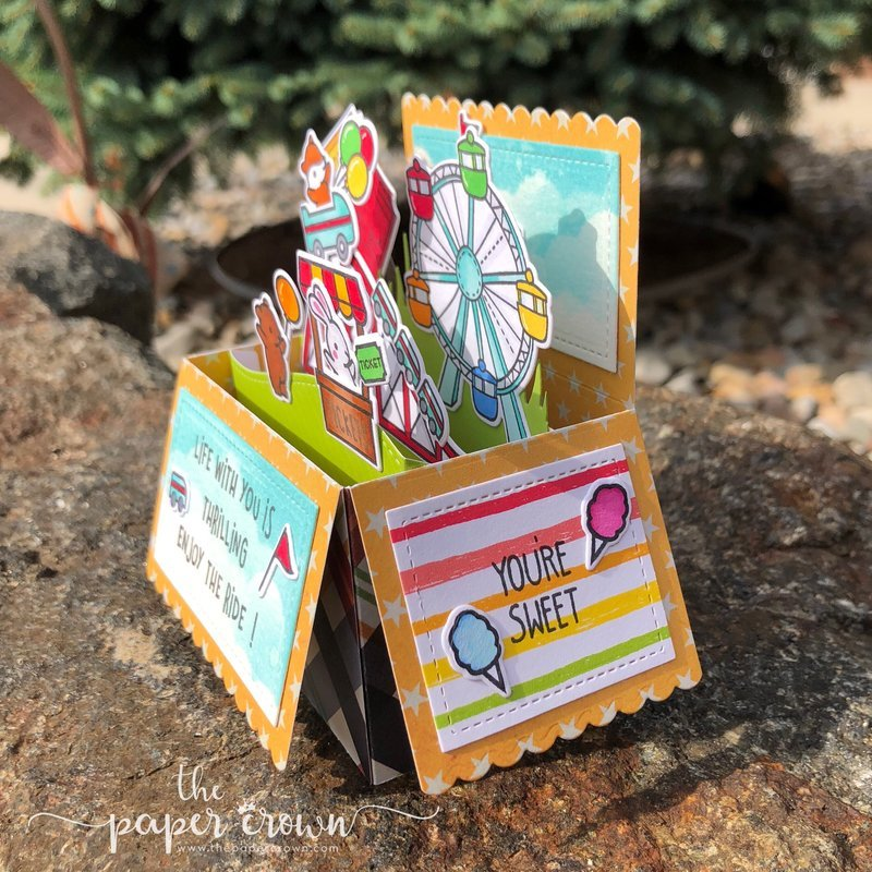 Coaster Critters Pop Up box