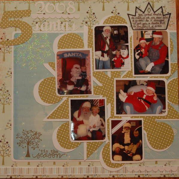 5 Santas