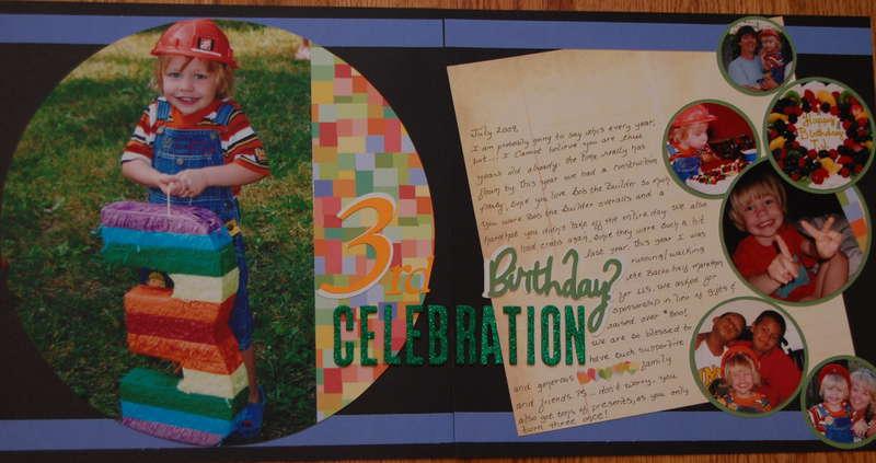 3rd Birthday Celebration