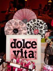 Dolce Vita Mia - Craft Show Sign