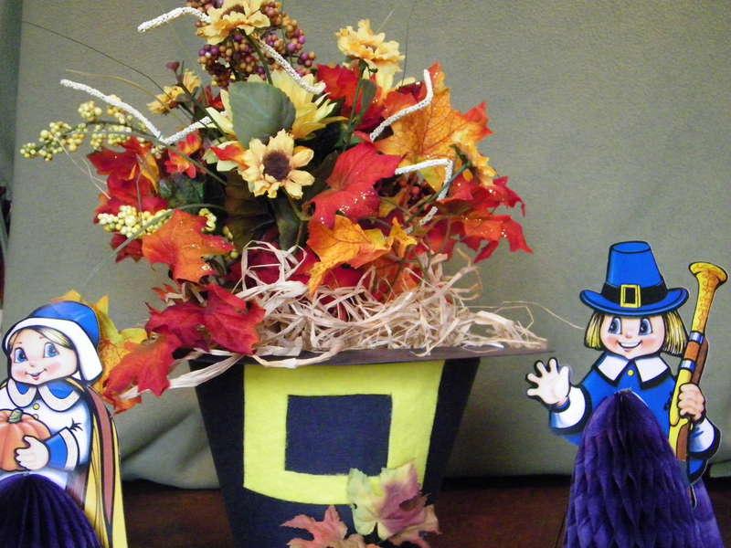 papercraft Thanksgiving Centerpiece