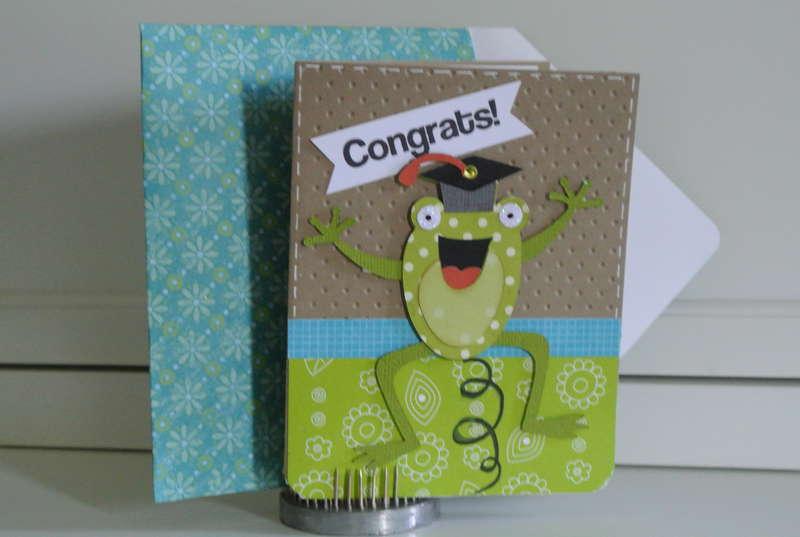 Preshcool Grad Card