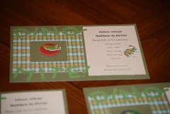 More dinosaur invitations