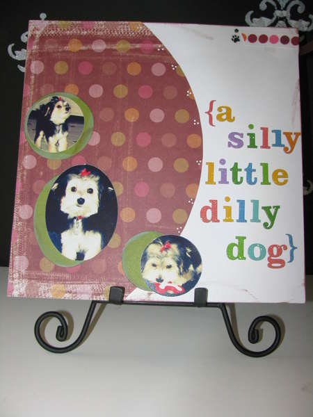 a silly little dilly dog