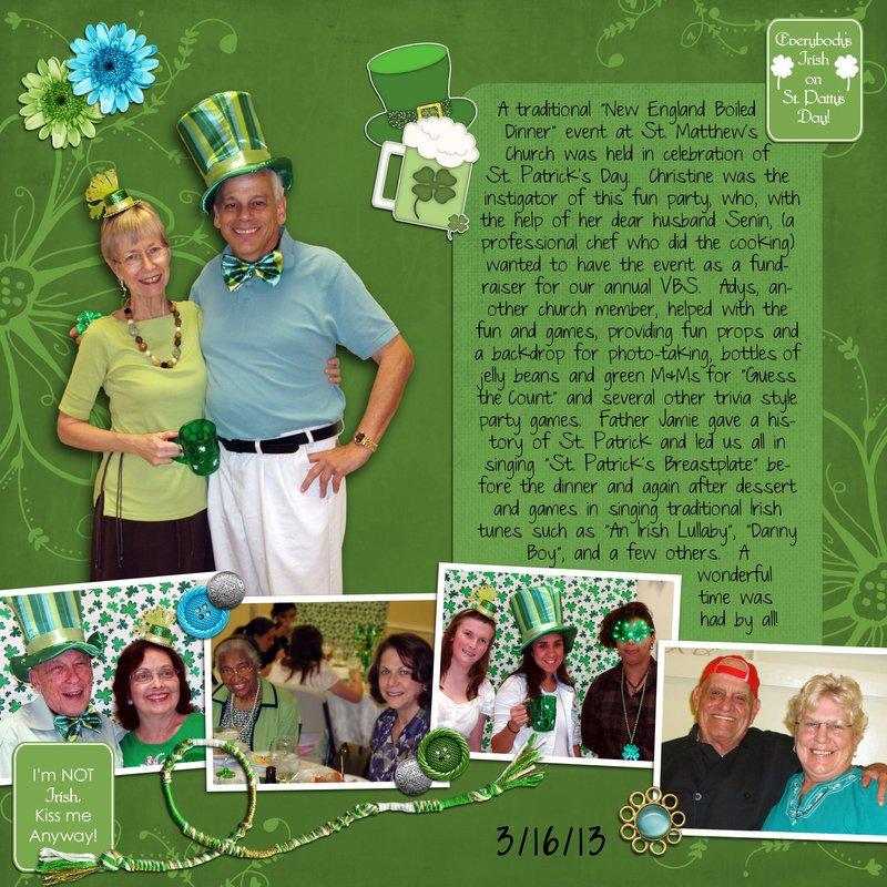 St Patrick's Day Celebration, 2013