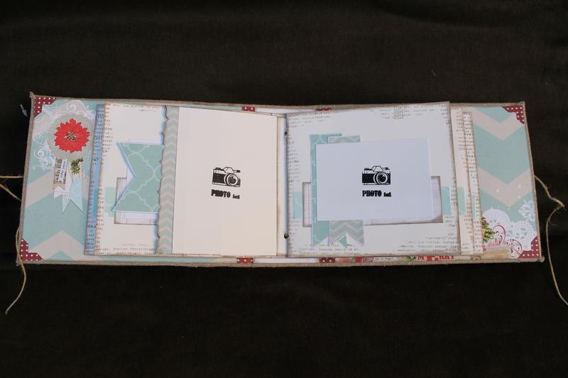 """Mini album """" Pele mele de souvenirs """""""