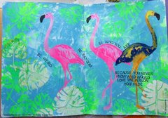 Art Journal: Be Who You Are