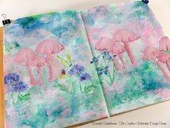 Art Journal: Whimsical Shrooms