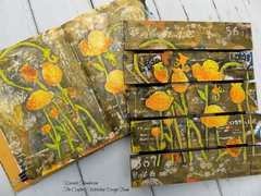 Art Journal to Wood Palette
