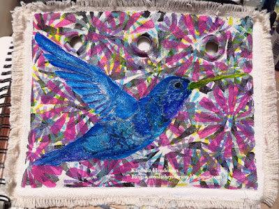 Hummingbird Zippered Pouch