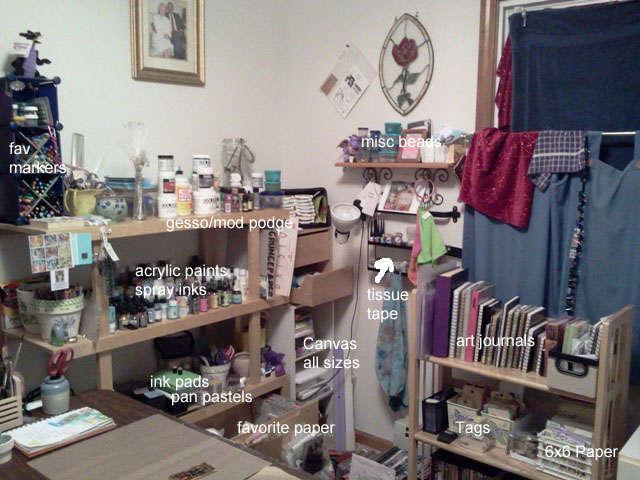Art Room Reorganized!