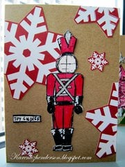 Christmas Card - Toy Soldier