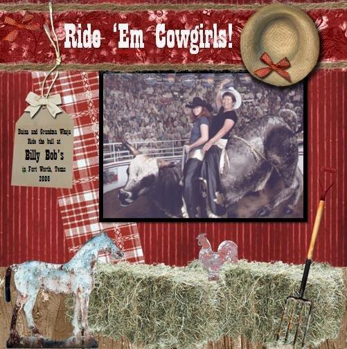 Ride 'Em Cowgirls!