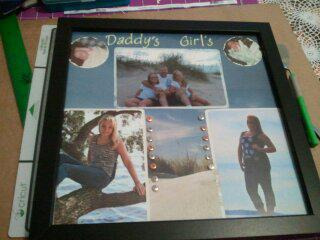Daddy's Girls  Shadow Box