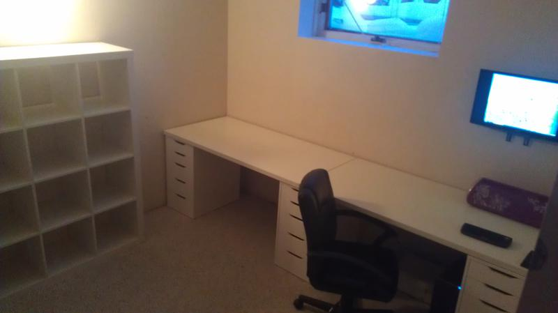 moved the desk