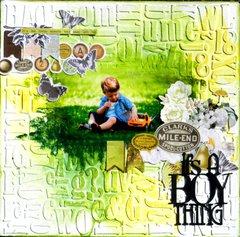 It's a boy thingh