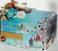 Christmas Recipe box
