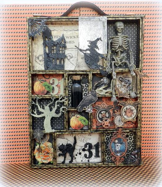 Halloween configuration box