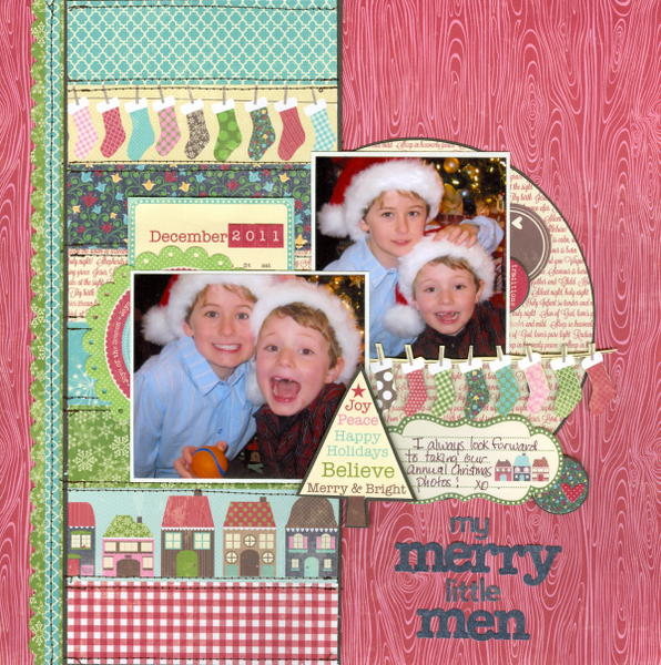 My merry little men