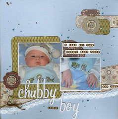 chubby little boy