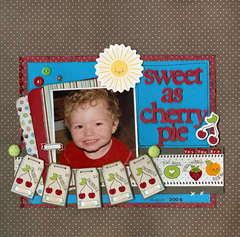 sweet as cherry pie *Imaginisce-Berrylicious*