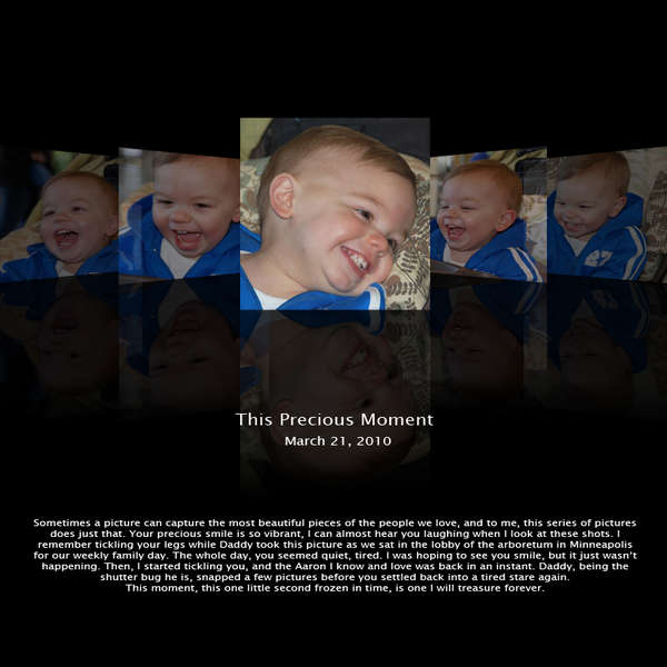 Coverflow: This Precious Moment