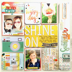 Simple Stories Summer Vibes pocket page