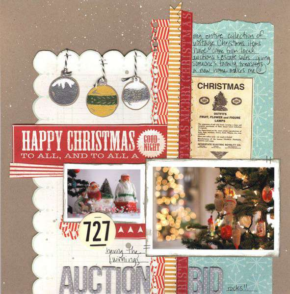 auction bid {Studio Calico Dec. Kit}