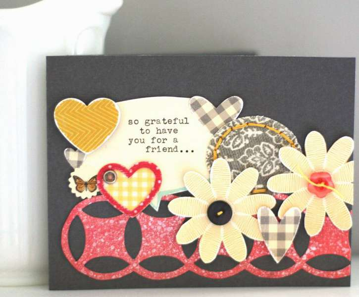 Grateful Friend {Studio Calico Nov. Kit}