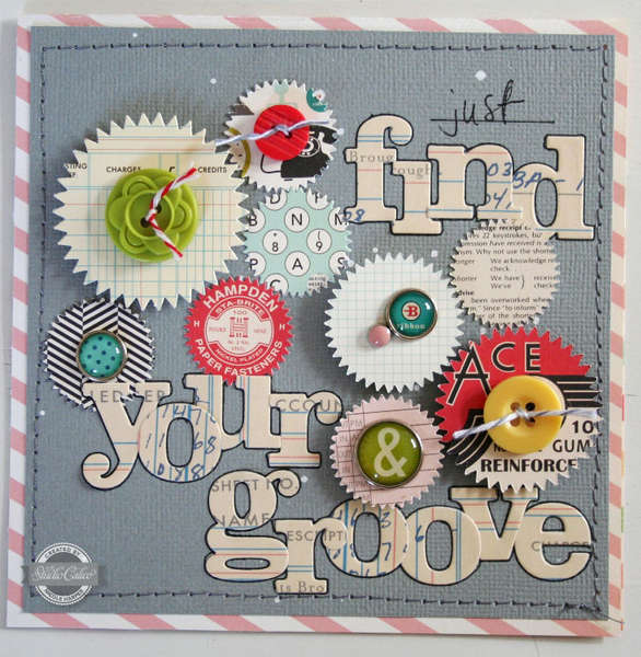 find your groove {Studio Calico July kit}