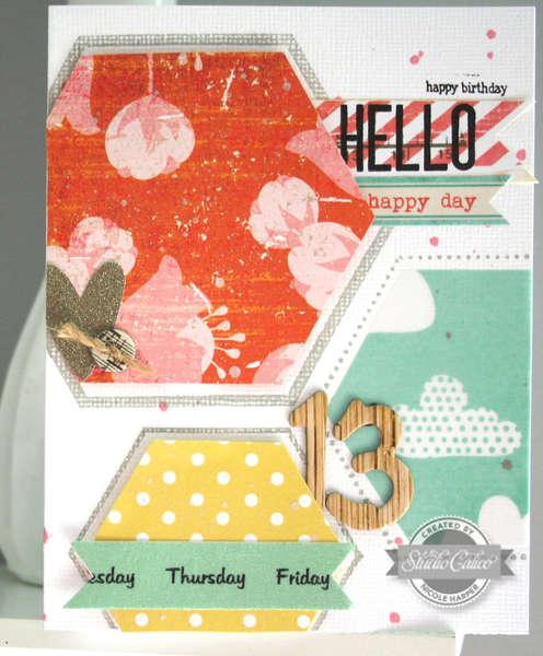 birthday card {Studio Calico June kit}