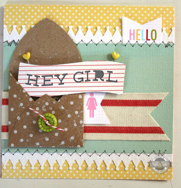 hey girl {Studio Calico July Kit}