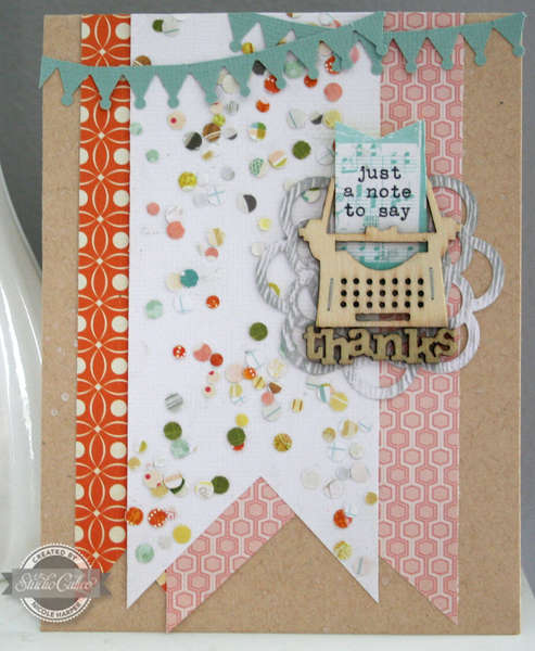 just a note {Studio Calico Heyday}