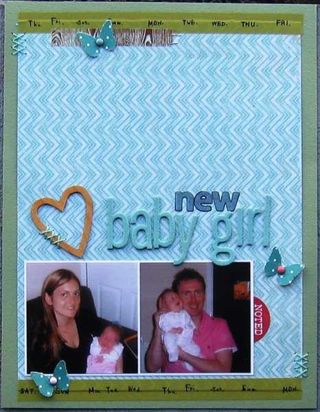 New baby Girl
