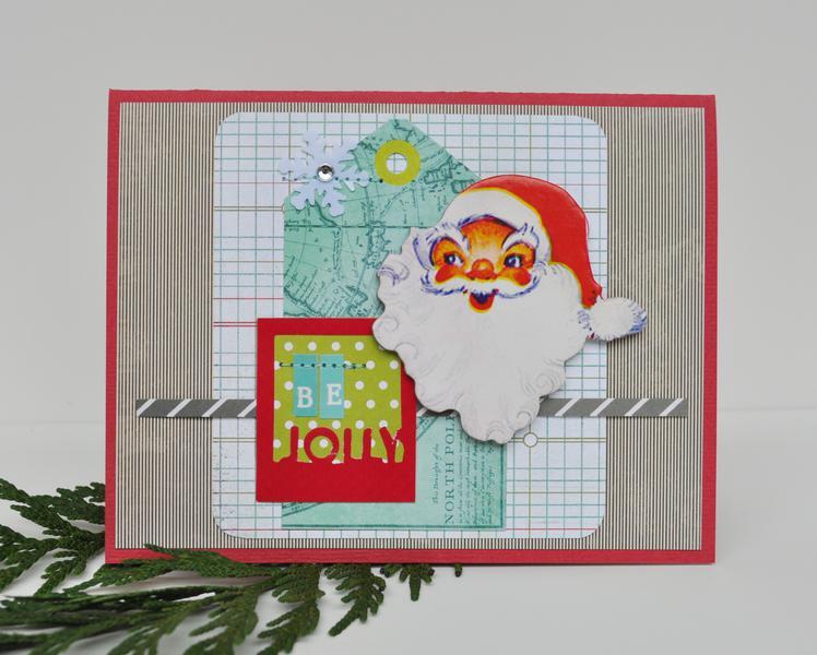 *HIP KIT CLUB - November 2012 Kit*  Be Jolly Card