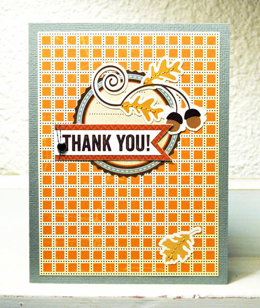 HIP KIT CLUB - October 2012 Kit - Thank You Card