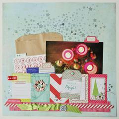 *HIP KIT CLUB - November 2012 Kit*  Merry & Bright Layout