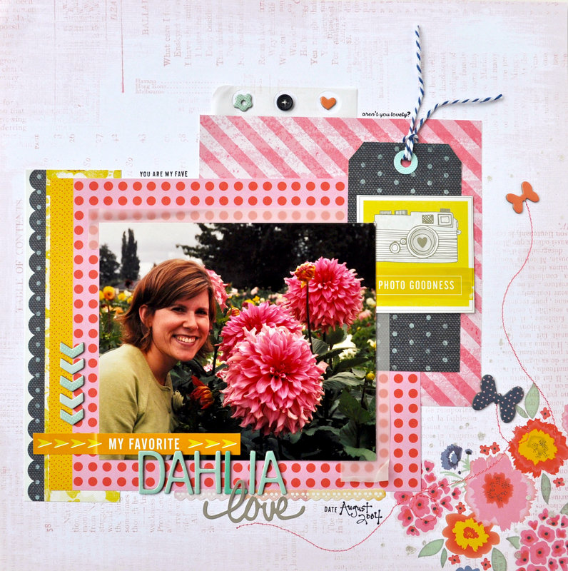 *HIP KIT CLUB - March 2013 Kit* Dahlia LO