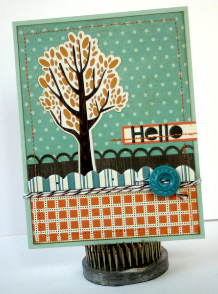 HIP KIT CLUB - October 2012 Kit - Hello Card