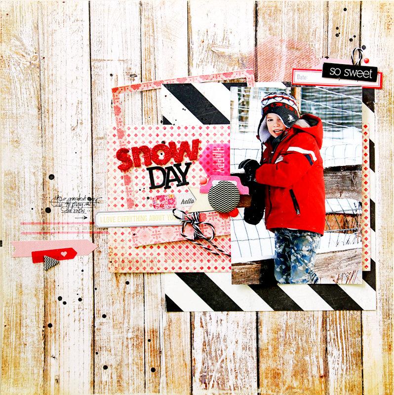 *HIP KIT CLUB - JUNE 2013 KIT* - Snow Layout