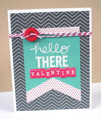 HIP KIT CLUB - December 2012 Kit - Hello There Valentine Card