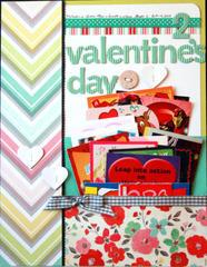 HIP KIT CLUB - January 2013 Kit - Valentine's Day Layout