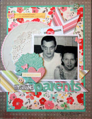 HIP KIT CLUB - January 2013 Kit - Grandparents Layout